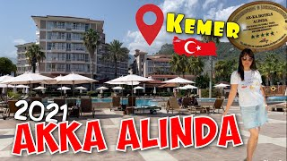 AKKA ALINDA HOTEL 5 Обзор отеля 2021 Кемер Турция
