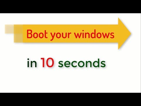 How To Fast Start Your Computer Laptop Windows 7/8/10 Trick Startup Windows Faster