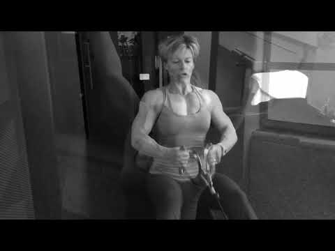 Nathalie Foreau /Back-Chest Workout @The Gym Fort Lauderdale