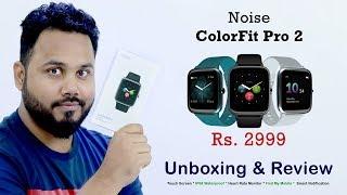 Noise ColorFit Pro 2 Smart Watch | Touch Screen | IP68 Waterproof