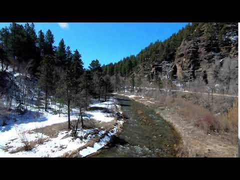 Black HIlls AVP:  Flying over the creek