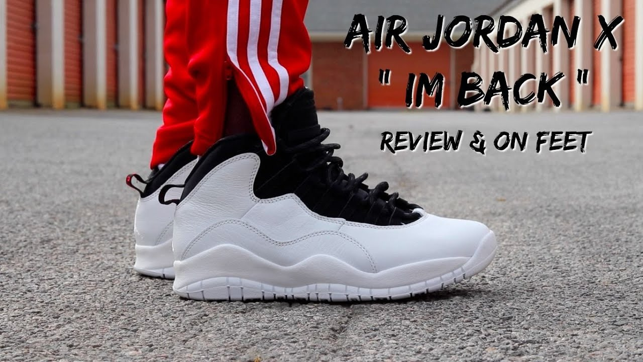 low priced 70668 7eb3e PICKING UP THE AIR JORDAN 10