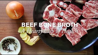 Beef Bone Broth, A Hearty Cup of Health | Farm to Table Family | PBS Parents