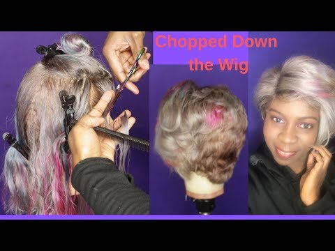 cutting-a-wig-in-a-shortstyle;-gray-wig-for-the-brown-girl???