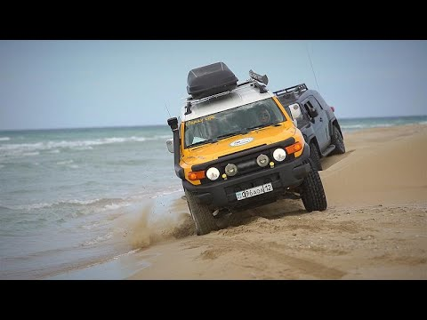 Do Mar Cáspio à Montanha Negra: aventuras todo-o-terreno