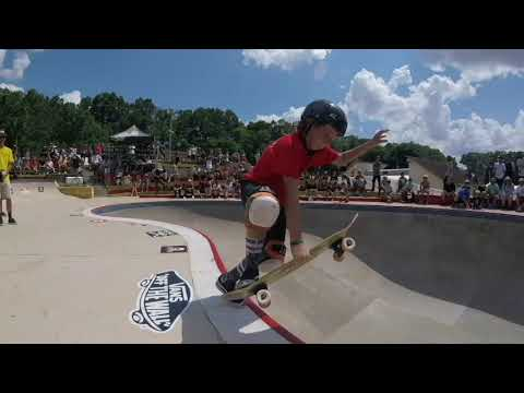 Nash Barfield 9 Year Old Skateboarder