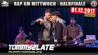RAP AM MITTWOCH FRANKFURT: 01.12.17 Halbfinale feat. JEY JEY GLÜNDERLING, TOMMY2LATE uvm. (3/4)