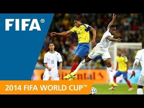 FWC 2014 - Honduras v Ecuador - International Sign Highlights