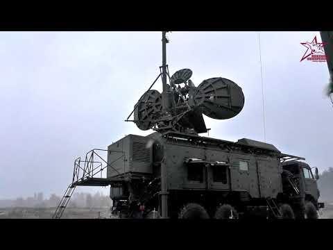 Совместные учения ВКС и РЭБ Западного Военного Округа