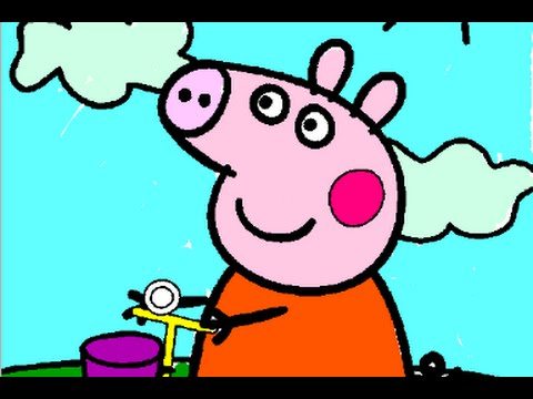 Peppa Pig Coloring Book Games : Peppa pig colouring pages games from youtube download
