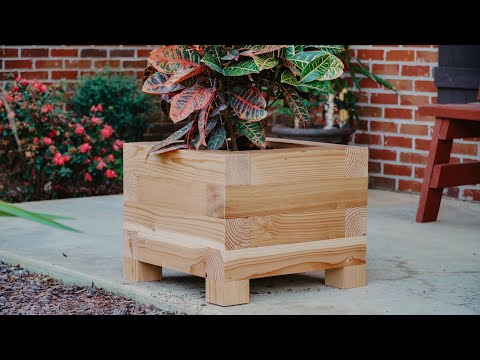 DIY Planter Box for Jay Bates