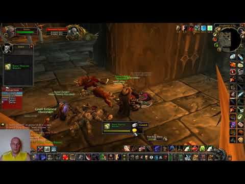 WoW Classic LBRS Lower Blackrock Spire Instance Run Full With All Bosses Tanking