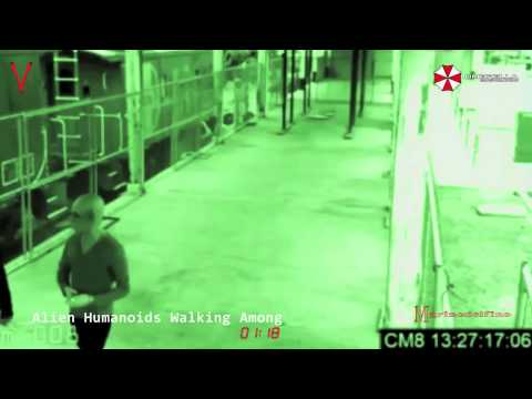 ALIEN HUMANOIDS WALKING AMONG US CCTV FOOTAGE ANALYSED!!