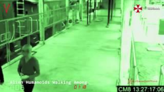 ALIEN HUMANOIDS WALKING AMONG US CCTV FOOTAGE ANALYSED!!