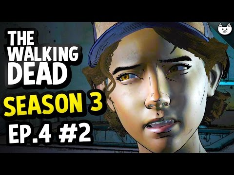 The Walking Dead Game Season 3 Episode 4 - CLEMENTINE PUBERTY? - (Walking Dead Gameplay Ep4 Part 2)