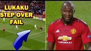 Lukaku step overs Fail Funny memes and Internet reactions