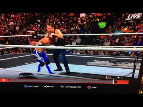 WWE AJ styles fail