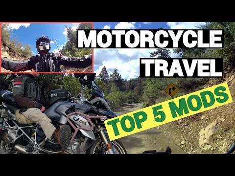 Top 5 Mods For Motorcycle Travel