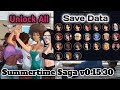 HOT!!! Summertime Saga Unlock All Girls v0.15.30 Save Data | All Scene All Cookie Jar's