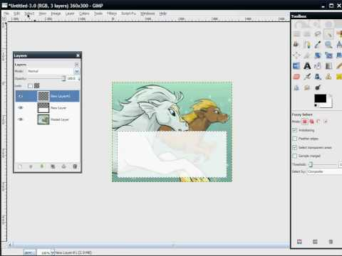 How To Make A Neopets Blog Using GIMP