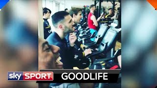 Özil, Xhaka & Co. feiern Roger Federer | Goodlife #19 - Bundesliga-Stars and Lifestyle