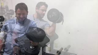 Exersice Back Workout  / Taste test
