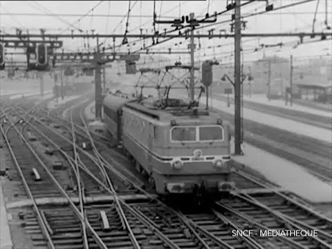 LE MISTRAL - 1956 SNCF Ferroviaire / French Trains