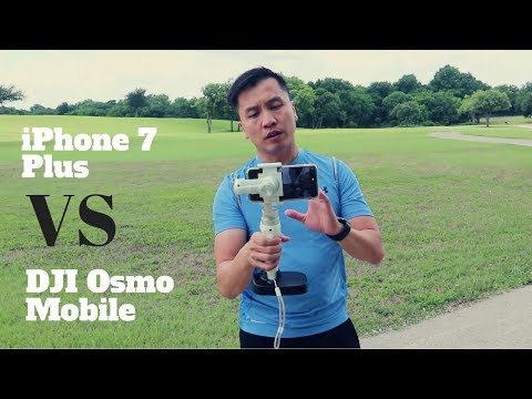 DJI Osmo Mobile Gimbal VS iPhone 7 Plus Image stabilization \ Tips on how to up Your Vlogging Game