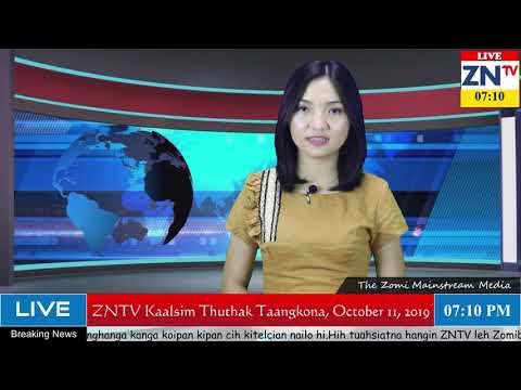 ZNTV Kaalsim Thuthak Taangkona # 43, October 11, 2019 (Friday)