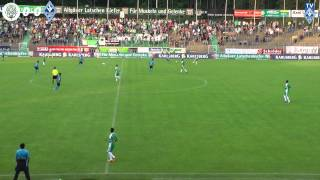 FC 08 Homburg vs. SV Waldhof Mannheim 07 6. Spieltag 13/14