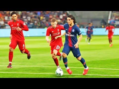 Paris Saint-Germain X Liverpool: Pro Evolution Soccer 2019 (PES 2019) - Playstation 4 Gameplay
