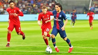 Paris Saint-Germain X Liverpool: Pro Evolution Soccer 2019 (PES 2019) - Playstation 4 Gameplay
