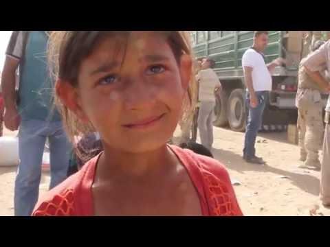 Shell Shocked child at Fallujah Camp