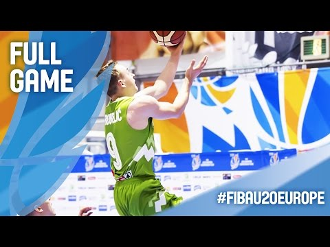 Serbia v Slovenia - Full Game - CL 9-12 - FIBA U20 European Championship 2016