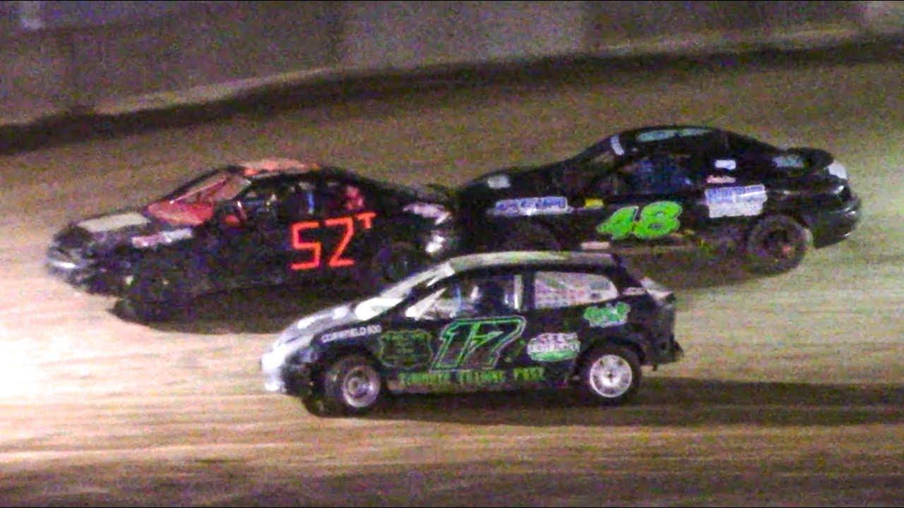 Mini Stock Feature   Old Bradford Speedway   9-8-18
