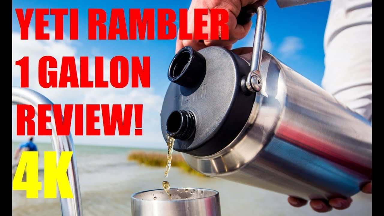Yeti Rambler 1 GALLON JUG Review! 4K