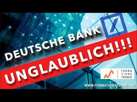 Deutsche Bank: Es ist unglaublich