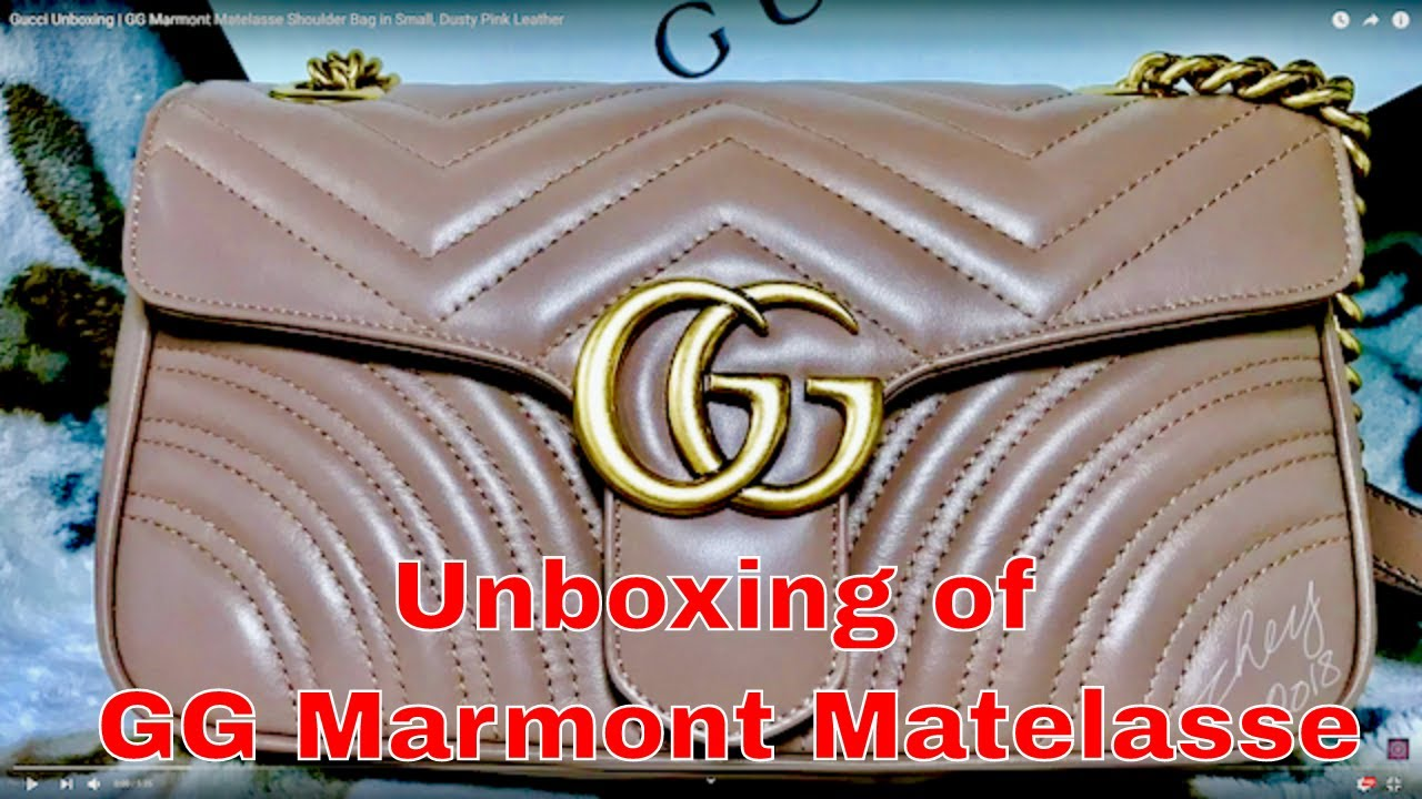 b7bf2ab6312943 Gucci Marmont Matelasse Mini Bag Youtube | Stanford Center for ...