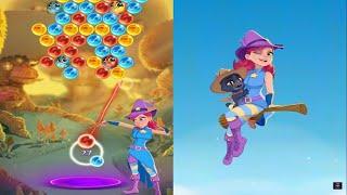 Bubble Witch 3 Saga Gameplay Walkthrough ( All 3 Star ) screenshot 5