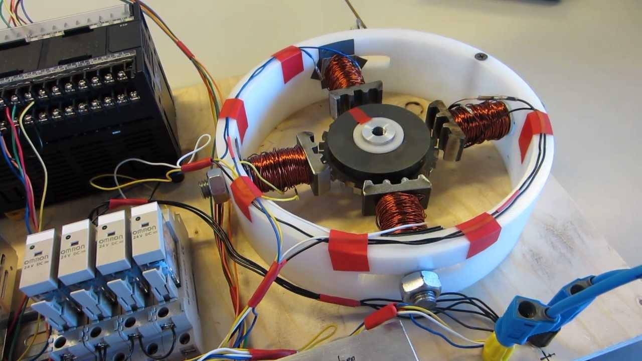 homemade stepper motor youtube