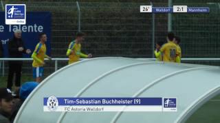 A-Junioren - FC Astoria Walldorf vs. SV Waldhof Mannheim 2-1 - Tim-Sebastian Buchheister