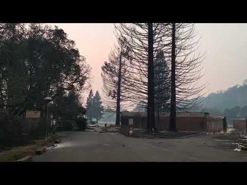 Wild Fire Destroys Santa Rosa Christian School