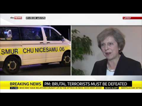 Theresa May On Nice: Full Interview