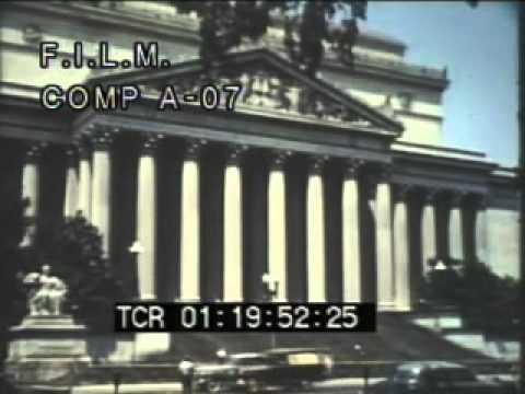 Vintage Washington, DC (stock footage / archival footage)