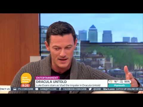 Luke Evans interview on Good Morning Britain