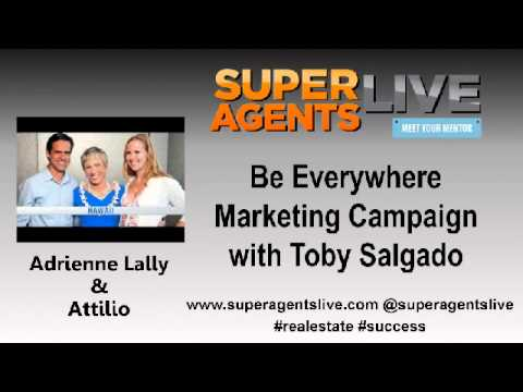 Be Everywhere Marketing Campaign with Adrinne Lally and Attilio