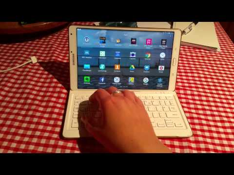 "Samsung Galaxy Tab S 8.4"" Bluetooth Keyboard"