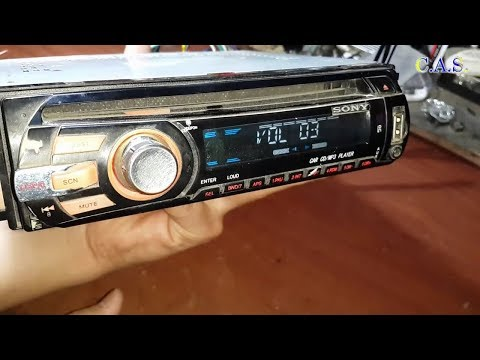 Ремонт магнитофона SONY, не прибавляет звук