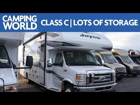 2019-jayco-greyhawk-30z-|-class-c-motorhome---rv-review:-camping-world