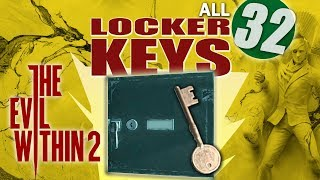 The Evil Within 2 - All 32 Locker Key Locations (Locksmith Achievement/Trophy Guide)